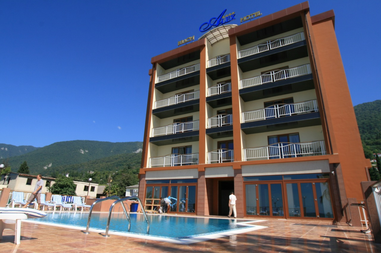 Отели и минигостиницы в Абхазии отдых в отелях и