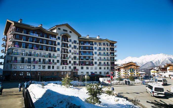 Отель ski inn роза хутор