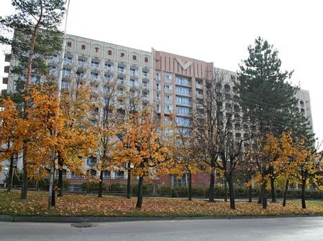 Размещение в санатории Виктория города Кисловодска.